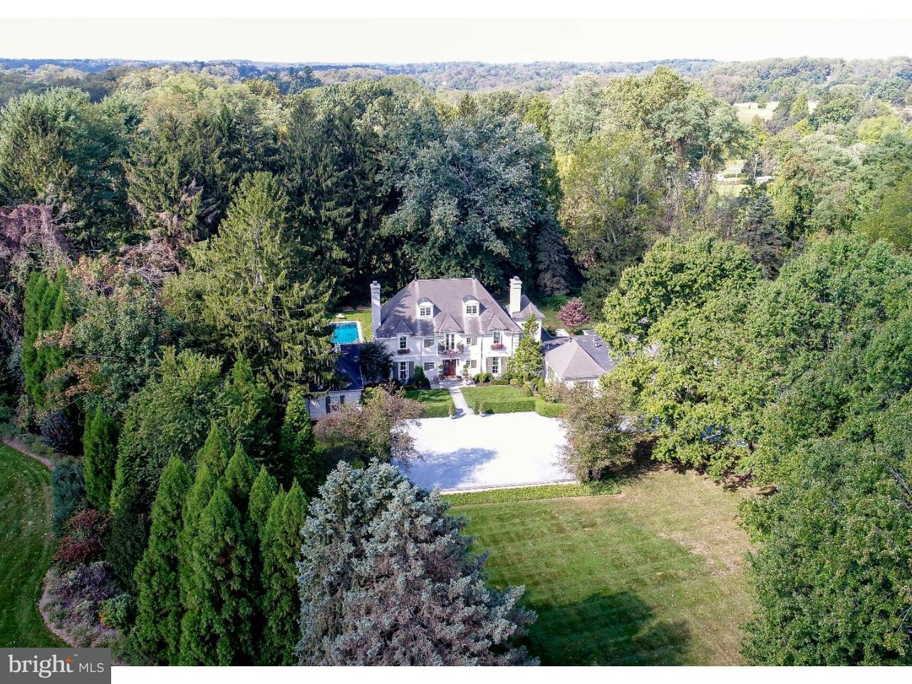 Maison unifamiliale pour l Vente à 257 HOTHORPE Lane Villanova, Pennsylvanie 19085 États-Unis