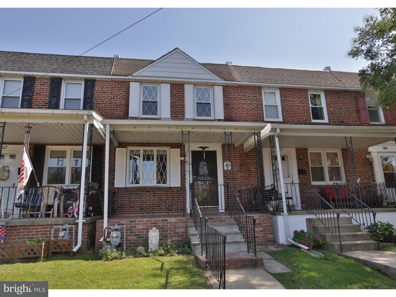 Townhouse for Sale at 1005 MAPLE Street Conshohocken, Pennsylvania 19428 United States