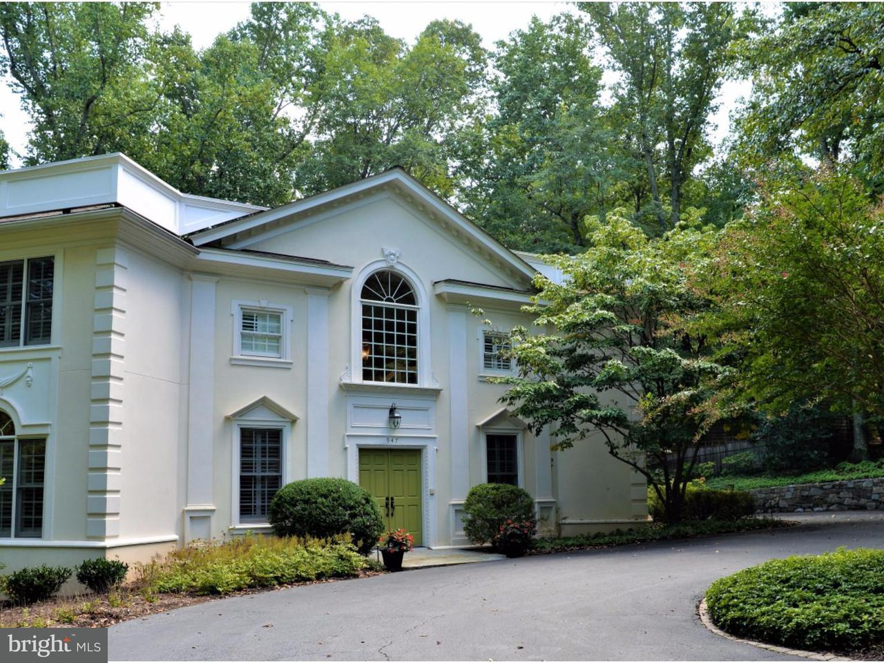 Single Family Home for Sale at 947 SWINKS MILL Road 947 SWINKS MILL Road McLean, Virginia 22102 United States