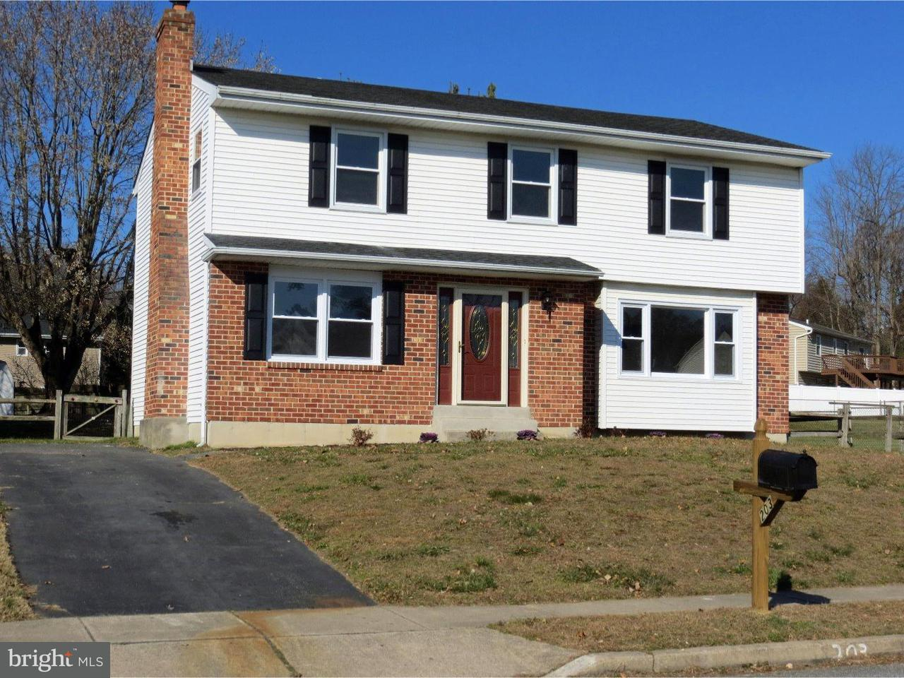 Single Family Home for Sale at 203 EMILY Lane Boothwyn, Pennsylvania 19061 United States