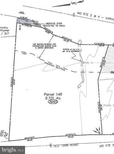 Land for Sale at 3995 Old Town Rd Huntingtown, Maryland 20639 United States