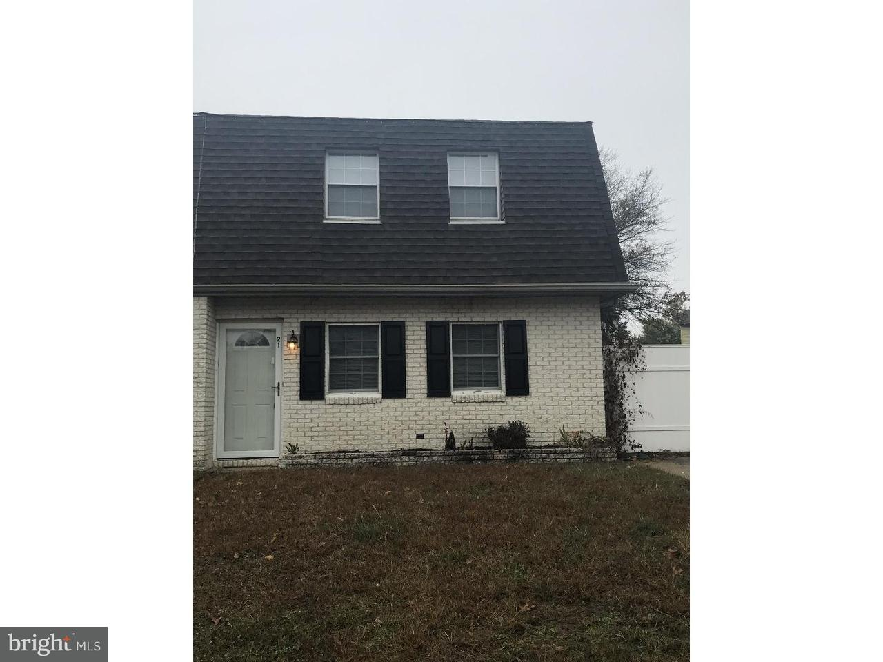 Townhouse for Rent at 21 FOMALHAUT Court Blackwood, New Jersey 08012 United States