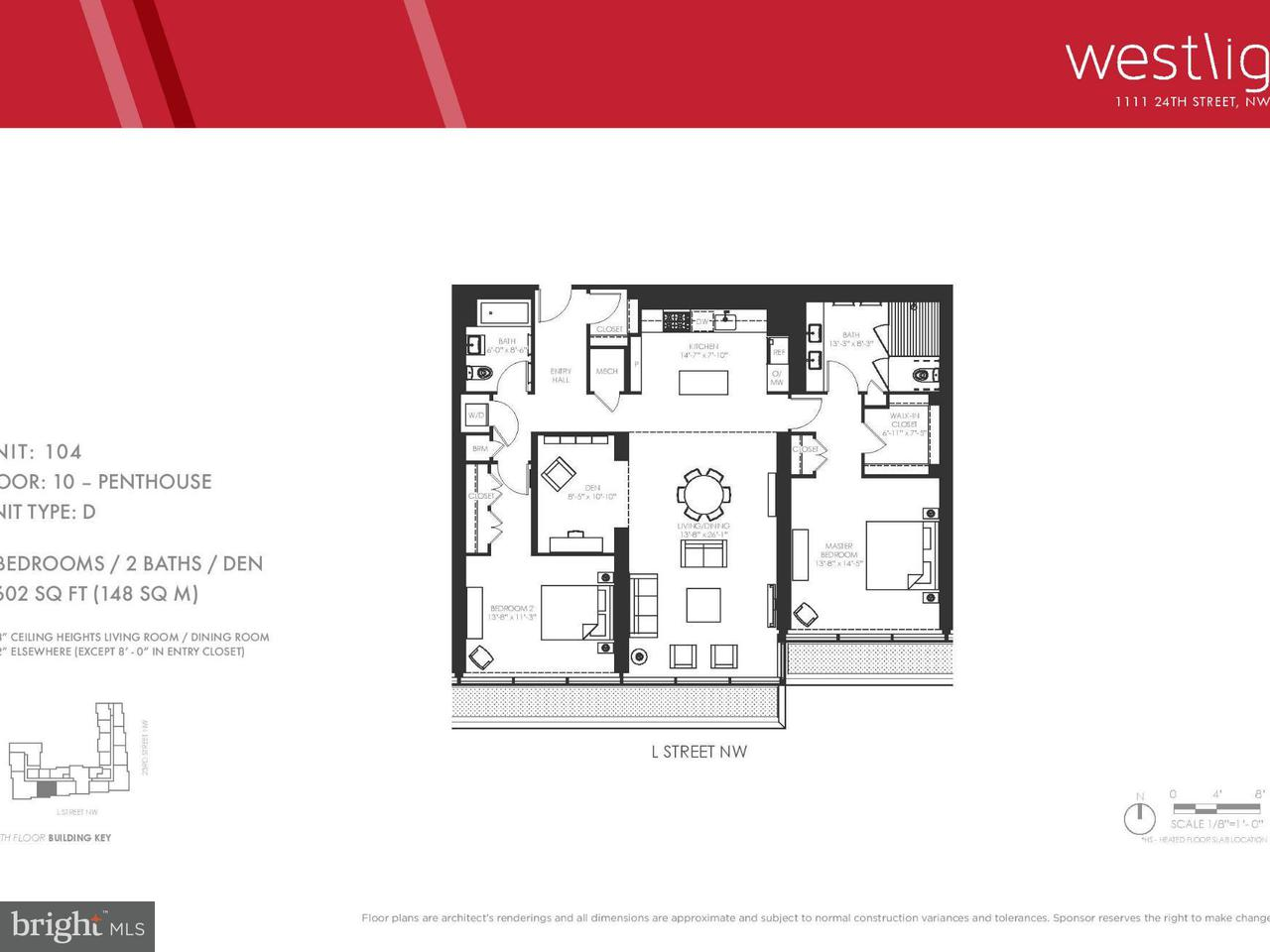 Additional photo for property listing at 1111 24TH ST NW #4Q 1111 24TH ST NW #4Q Washington, District Of Columbia 20037 Vereinigte Staaten