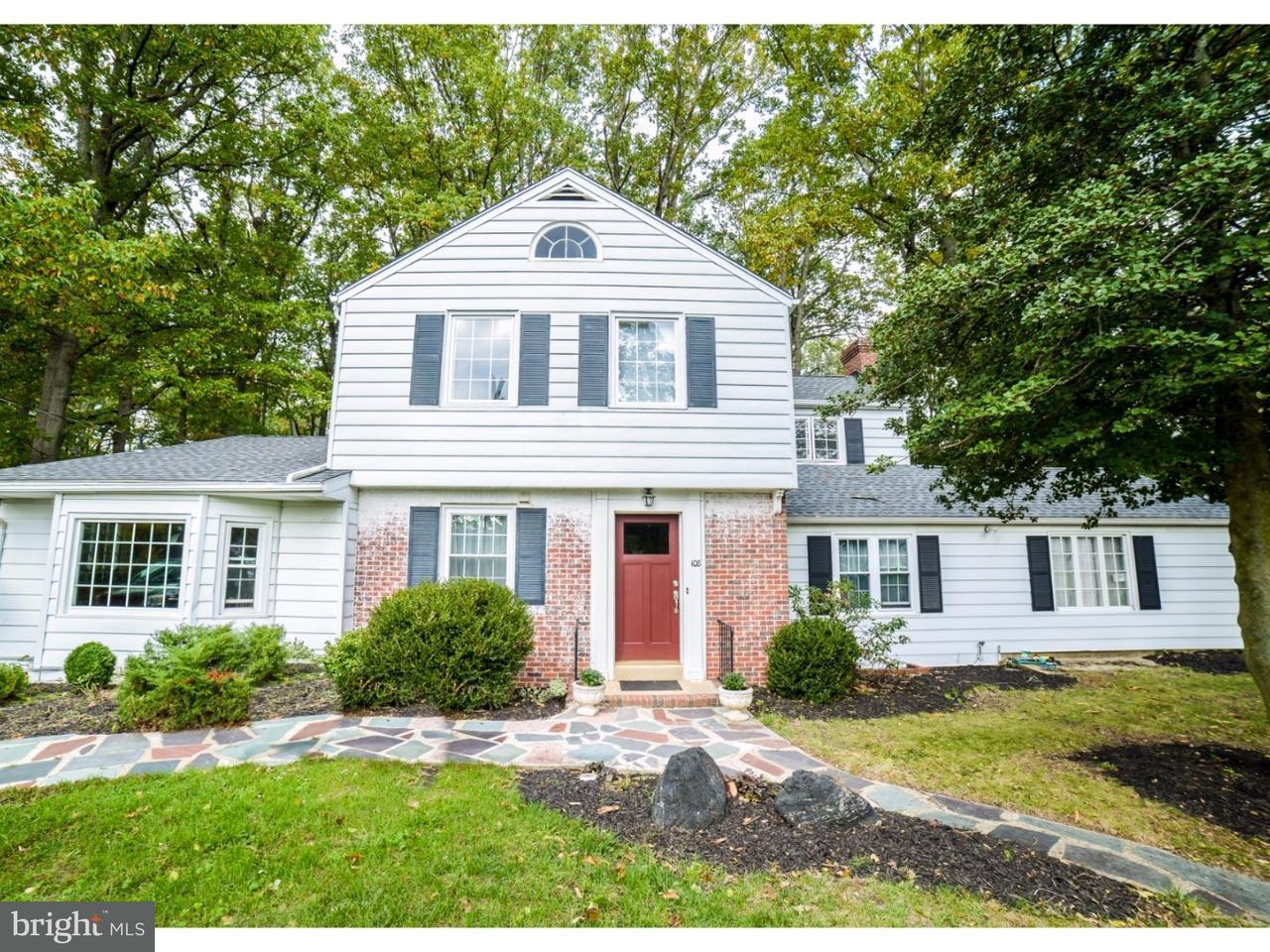 Maison unifamiliale pour l Vente à 108 CYRUS Avenue Pitman, New Jersey 08071 États-Unis