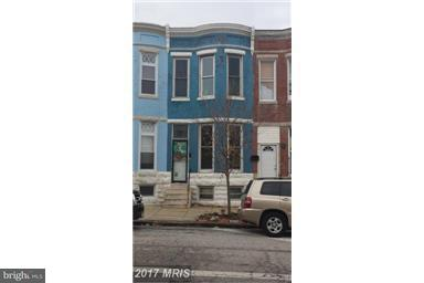 Single Family for Sale at 1959 Fayette St Baltimore, Maryland 21223 United States