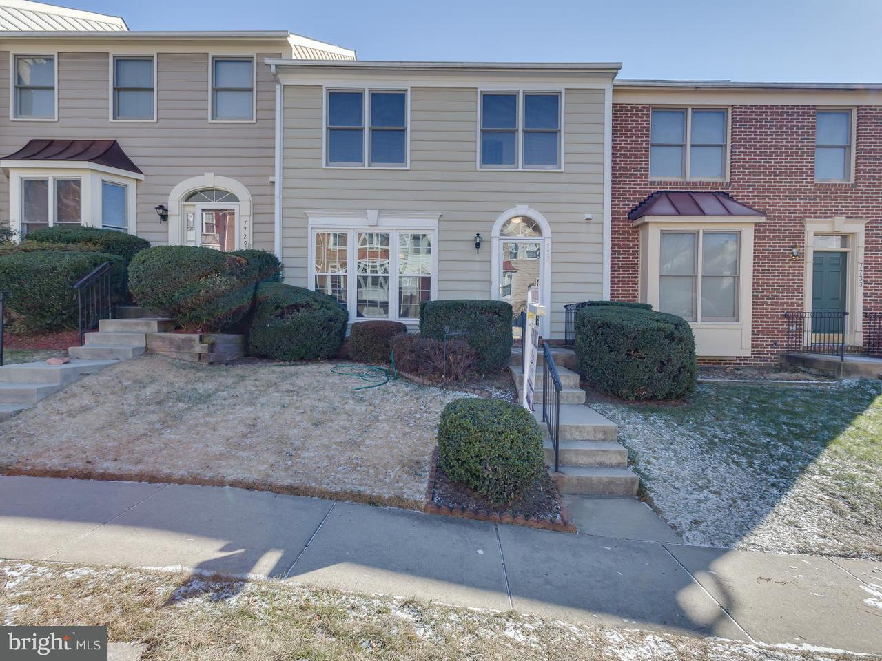 Townhouse for Sale at 7731 HICKORY GLEN WAY 7731 HICKORY GLEN WAY Springfield, Virginia 22153 United States