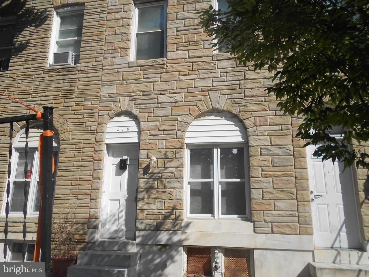 Single Family for Sale at 535 Lakewood Ave Baltimore, Maryland 21205 United States