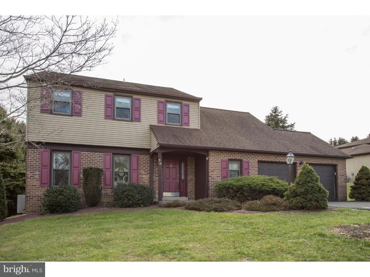 Частный односемейный дом для того Продажа на 58 WINTER Road Holland, Пенсильвания 18966 Соединенные Штаты