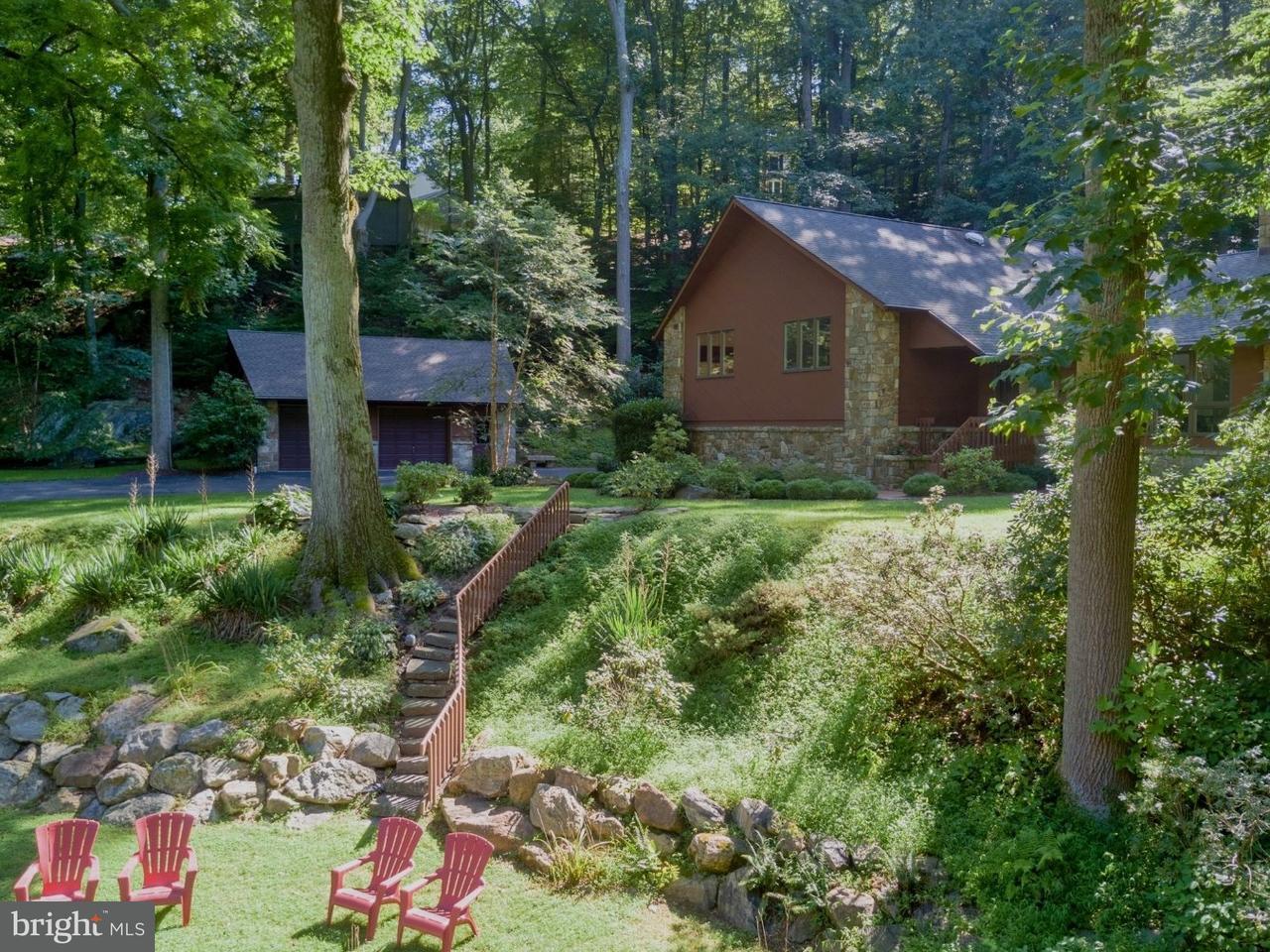 Частный односемейный дом для того Продажа на 1215 DOWLIN FORGE Road Downingtown, Пенсильвания 19335 Соединенные Штаты