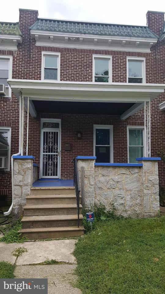 Single Family for Sale at 3105 Normount Ave Baltimore, Maryland 21216 United States