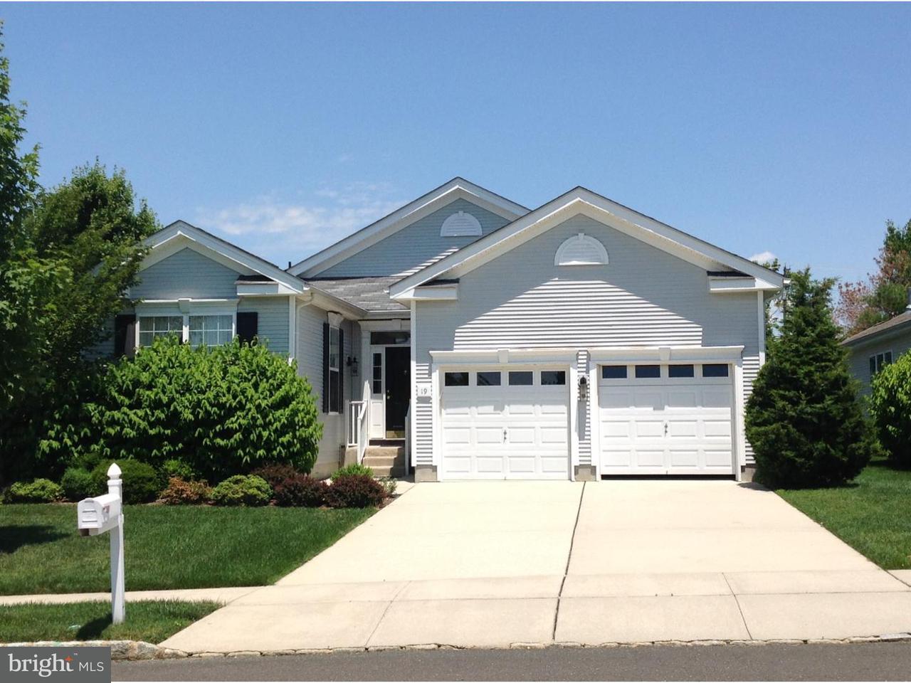 Casa Unifamiliar por un Alquiler en 19 BROCKTON Court Swedesboro, Nueva Jersey 08085 Estados Unidos