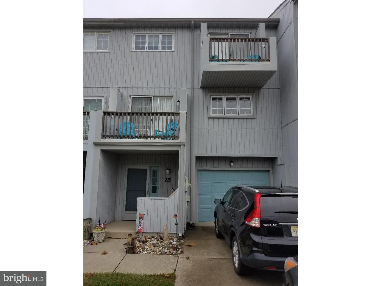 Townhouse for Sale at 25 SAILFISH Drive Brigantine, New Jersey 08203 United States