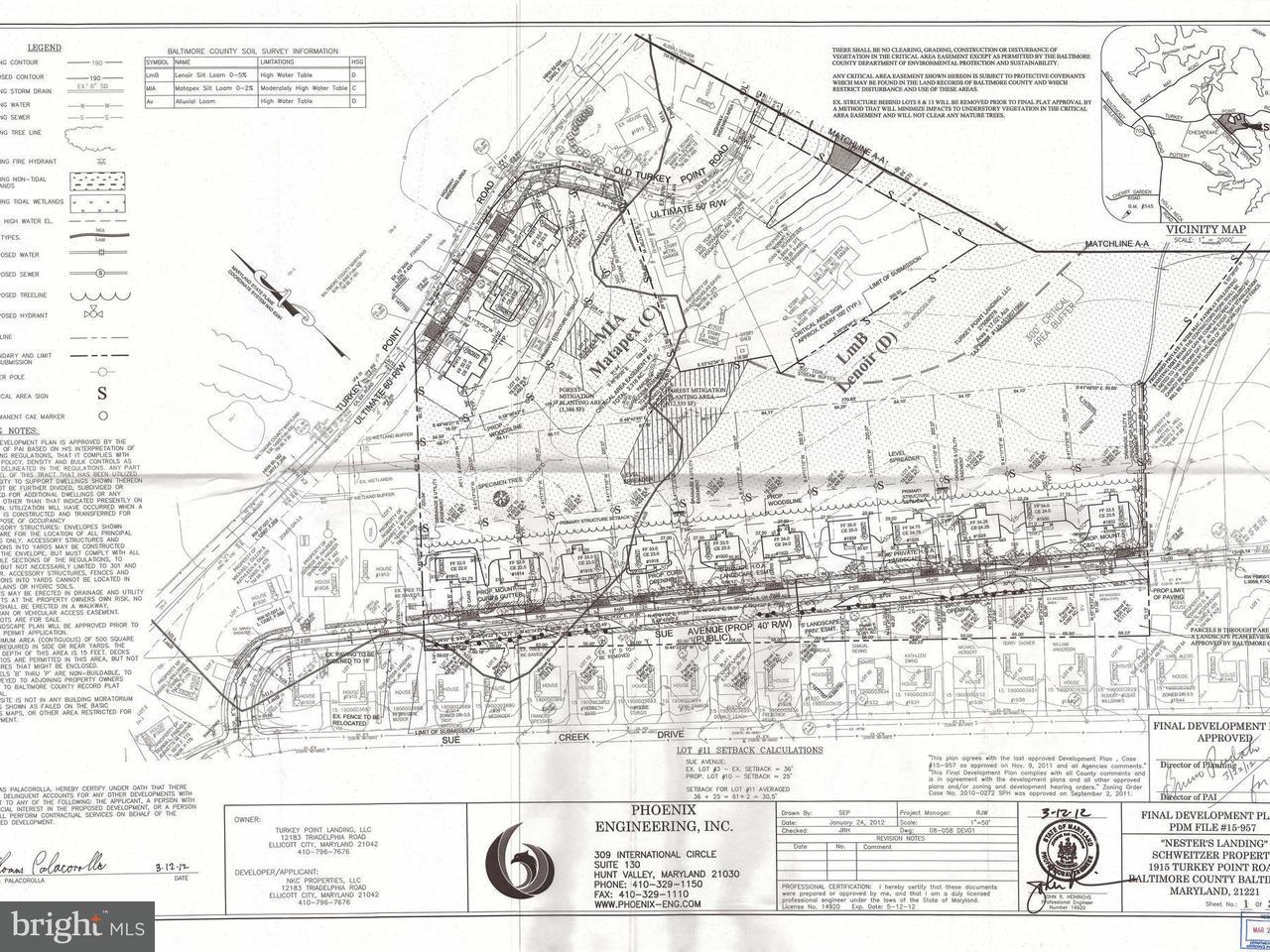 Land voor Verkoop een t 1913 TURKEY POINT Road 1913 TURKEY POINT Road Essex, Maryland 21221 Verenigde Staten