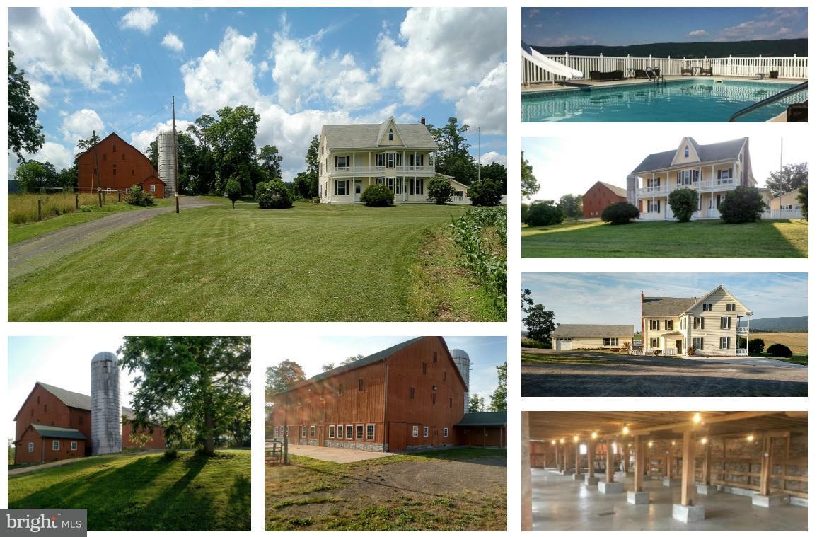 農場 為 出售 在 16937 GREAT COVE Road 16937 GREAT COVE Road Mc Connellsburg, 賓夕法尼亞州 17233 美國