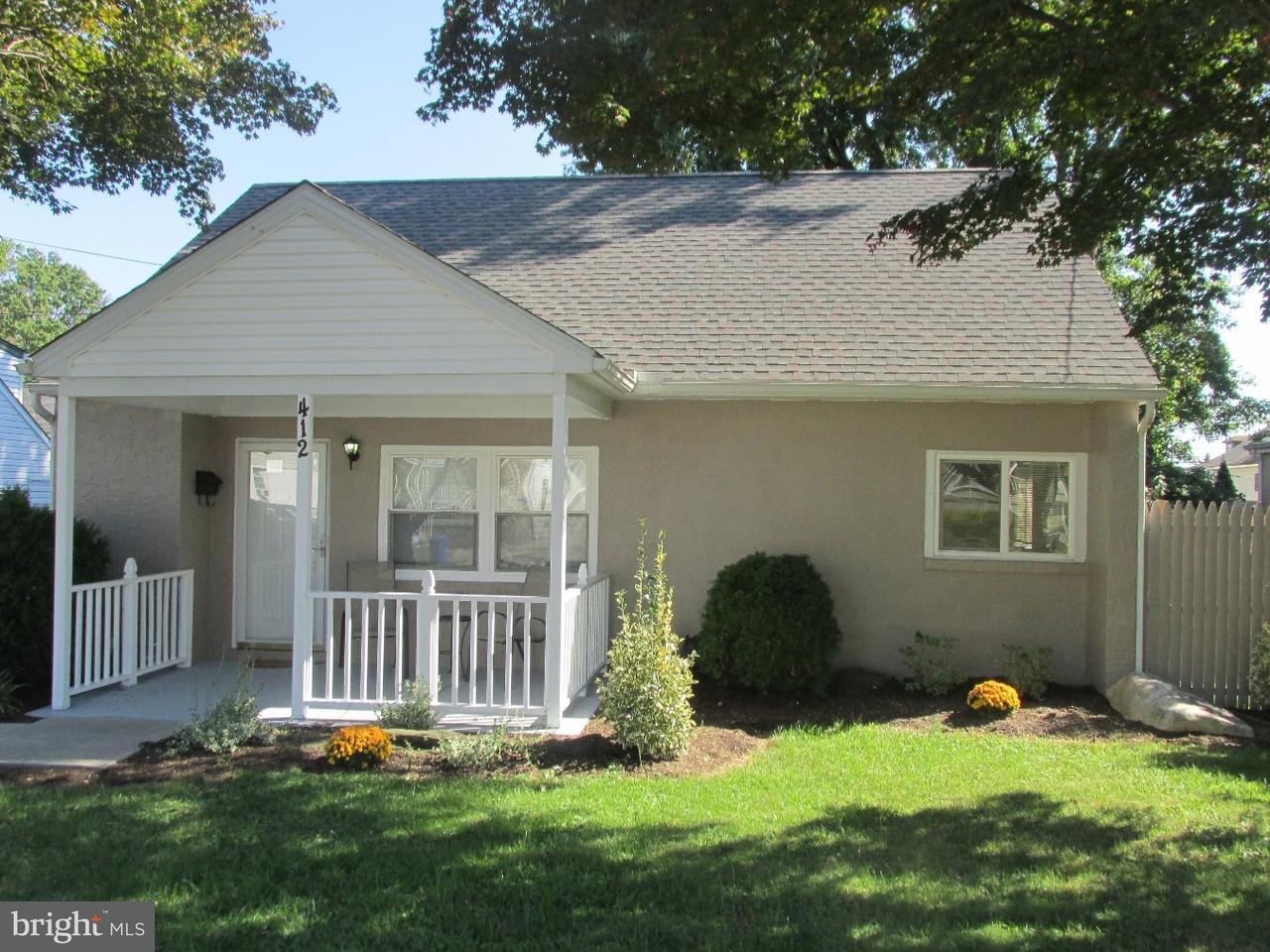 独户住宅 为 销售 在 412 GORSUCH Street Folsom, 宾夕法尼亚州 19033 美国