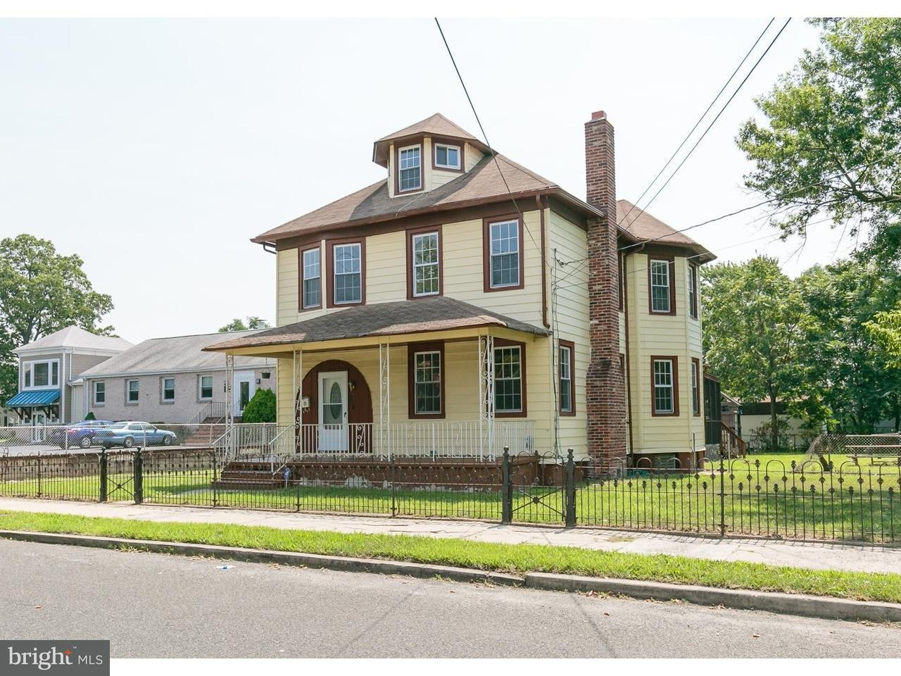 Single Family Home for Sale at 224 E WASHINGTON Street Riverside, New Jersey 08075 United States