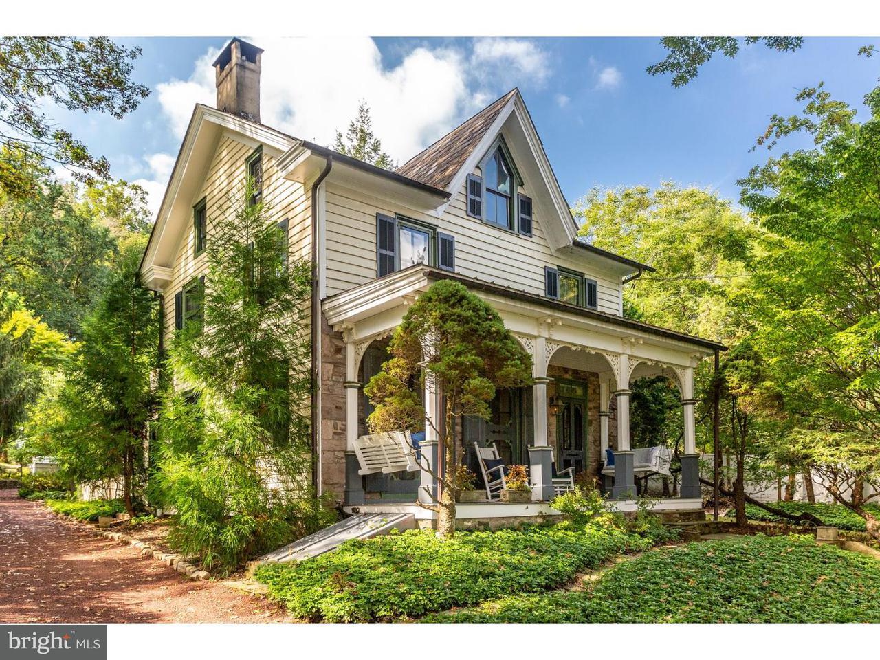 Casa Unifamiliar por un Venta en 3749 RIVER Road Lumberville, Pennsylvania 18933 Estados UnidosEn/Alrededor: Solebury Township