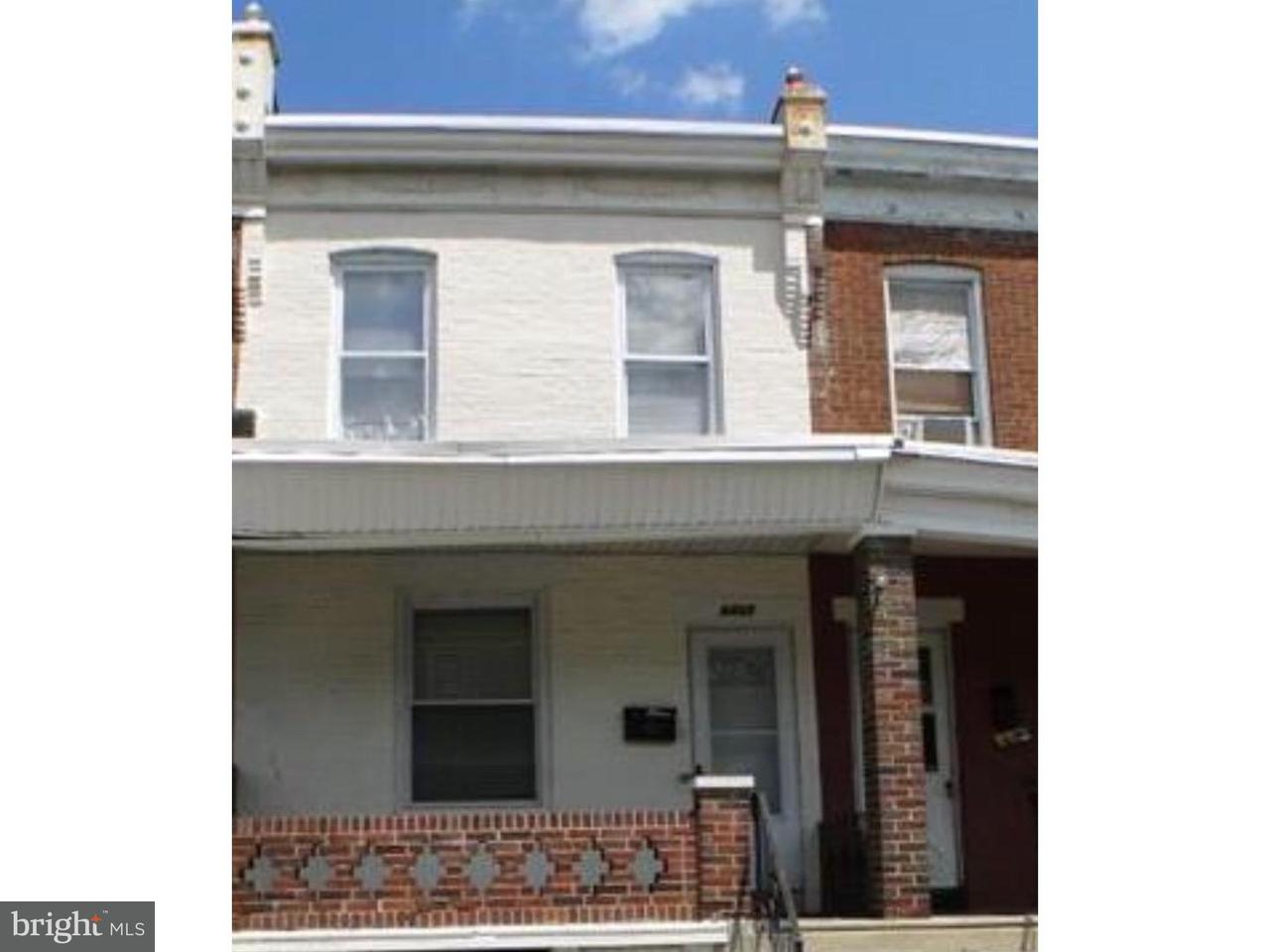 Townhouse for Sale at 6427 CARLTON Street Philadelphia, Pennsylvania 19139 United States