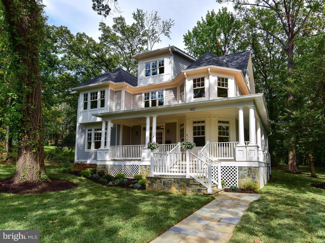 단독 가정 주택 용 매매 에 402 PRINCETON BLVD 402 PRINCETON BLVD Alexandria, 버지니아 22314 미국