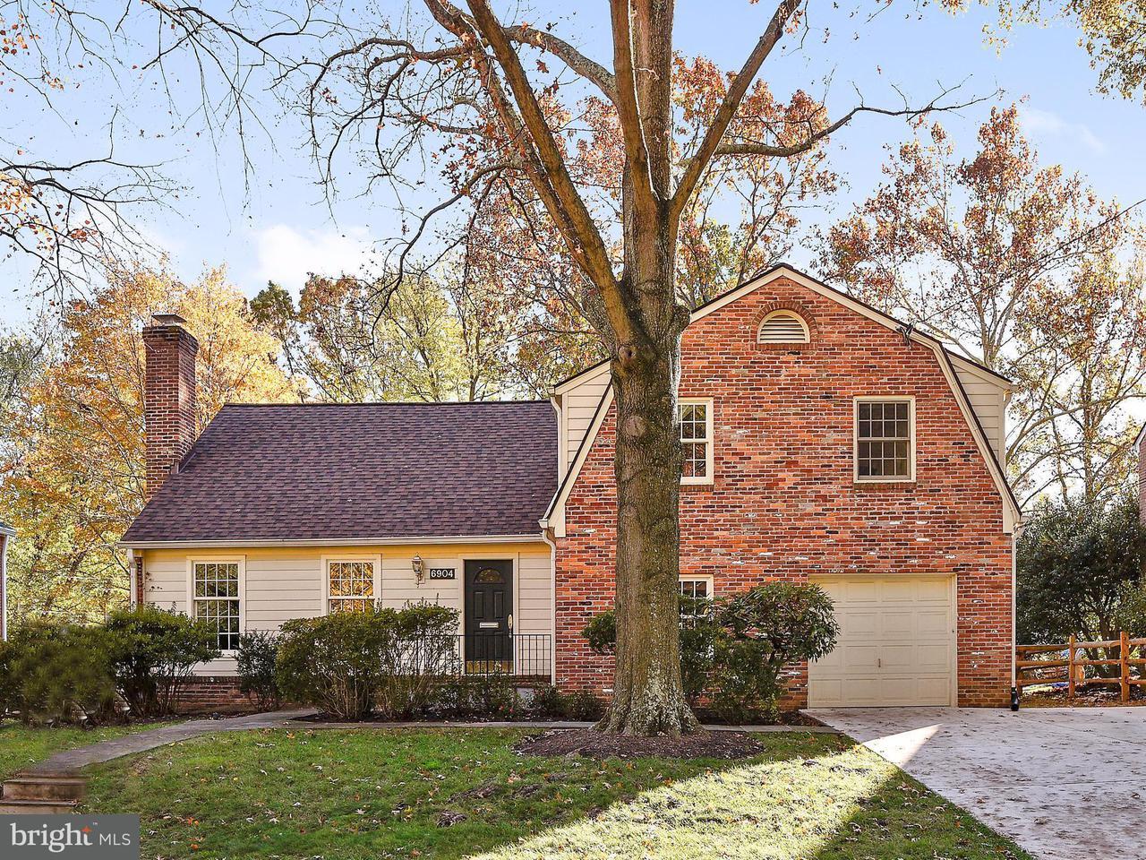 단독 가정 주택 용 매매 에 6904 TILDEN Lane 6904 TILDEN Lane Rockville, 메릴랜드 20852 미국