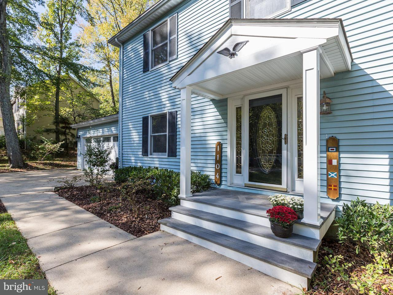 Single Family Home for Sale at 1104 BAY HIGHLANDS Drive 1104 BAY HIGHLANDS Drive Annapolis, Maryland 21403 United States