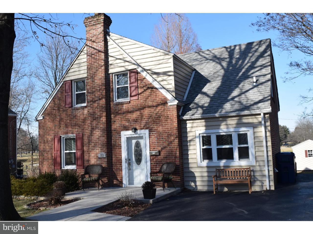 Single Family Home for Rent at 33 MEDBURY Lane Wallingford, Pennsylvania 19086 United States