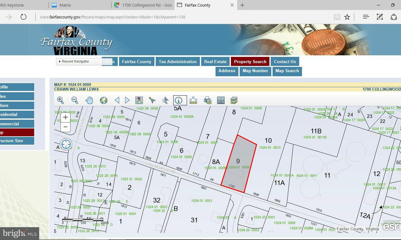 Land für Verkauf beim 1700 Collingwood Road 1700 Collingwood Road Alexandria, Virginia 22308 Vereinigte Staaten