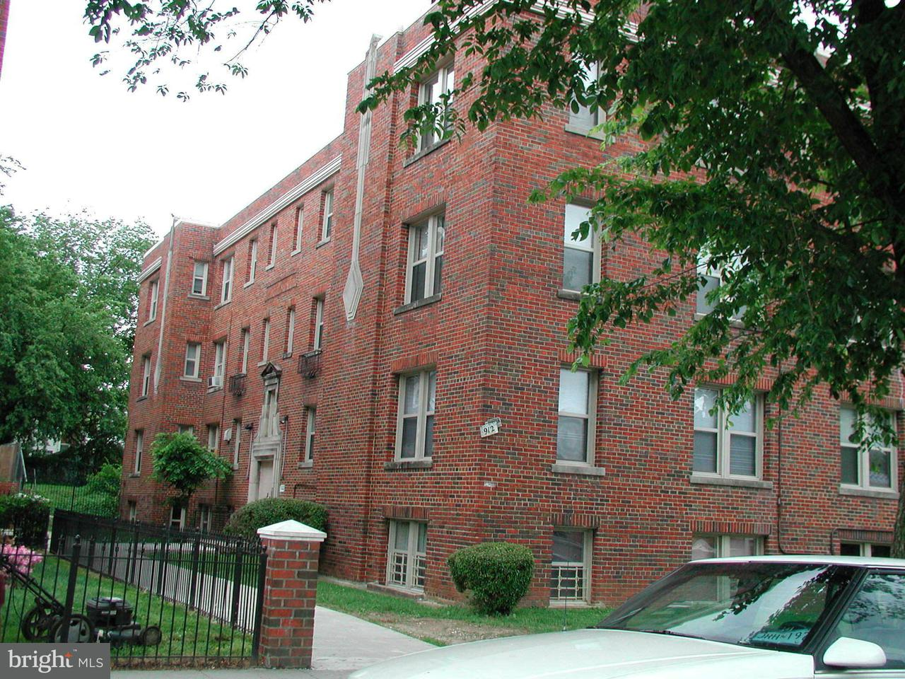 Multi-Family Home for Sale at 912 GALLATIN ST NW 912 GALLATIN ST NW Washington, District Of Columbia 20011 United States