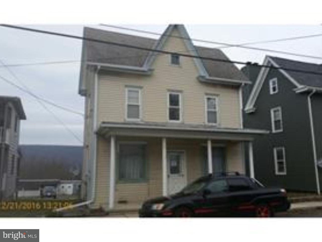 Single Family Home for Sale at 604 E MAIN Street Hegins, Pennsylvania 17938 United States