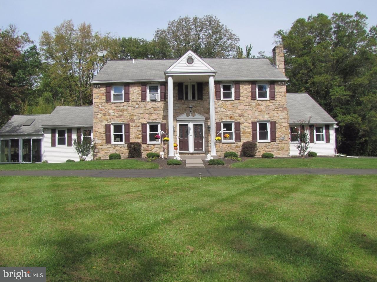 Maison unifamiliale pour l Vente à 320 AQUETONG Road Solebury, Pennsylvanie 18938 États-UnisDans/Autour: Solebury Township