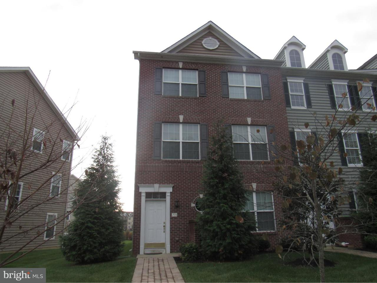 Townhouse for Rent at 735 OBSERVATORY Drive Bear, Delaware 19701 United States
