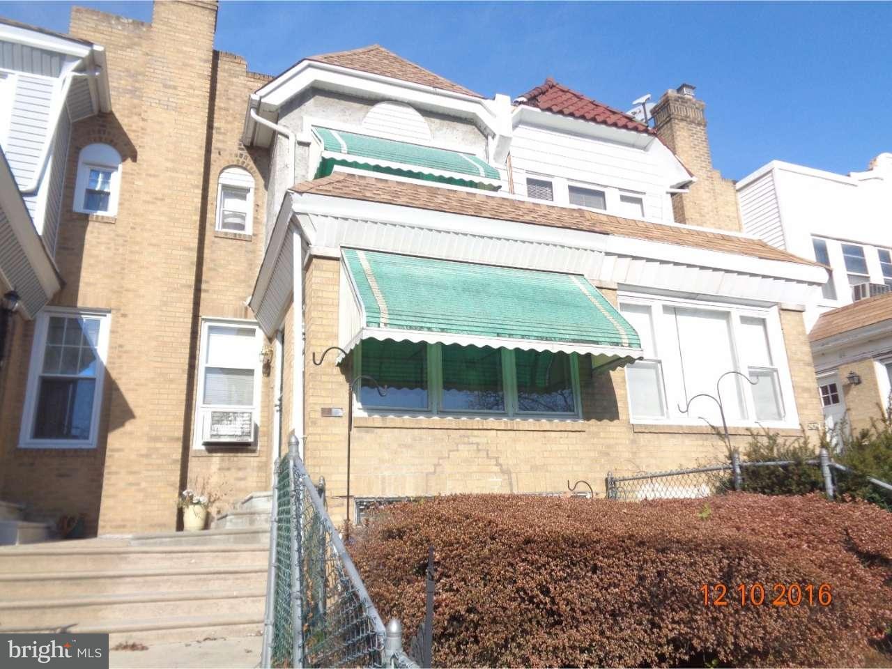 联栋屋 为 销售 在 2427 78TH Avenue 费城, 宾夕法尼亚州 19150 美国