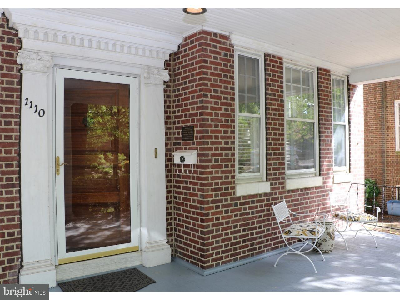 Single Family Home for Rent at 1110 N BROOM Street Wilmington, Delaware 19806 United States