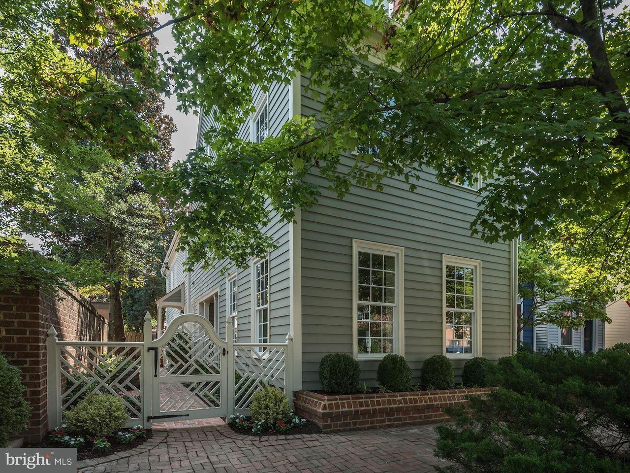 Maison accolée pour l Vente à 608 N SAINT ASAPH Street 608 N SAINT ASAPH Street Alexandria, Virginia 22314 États-Unis