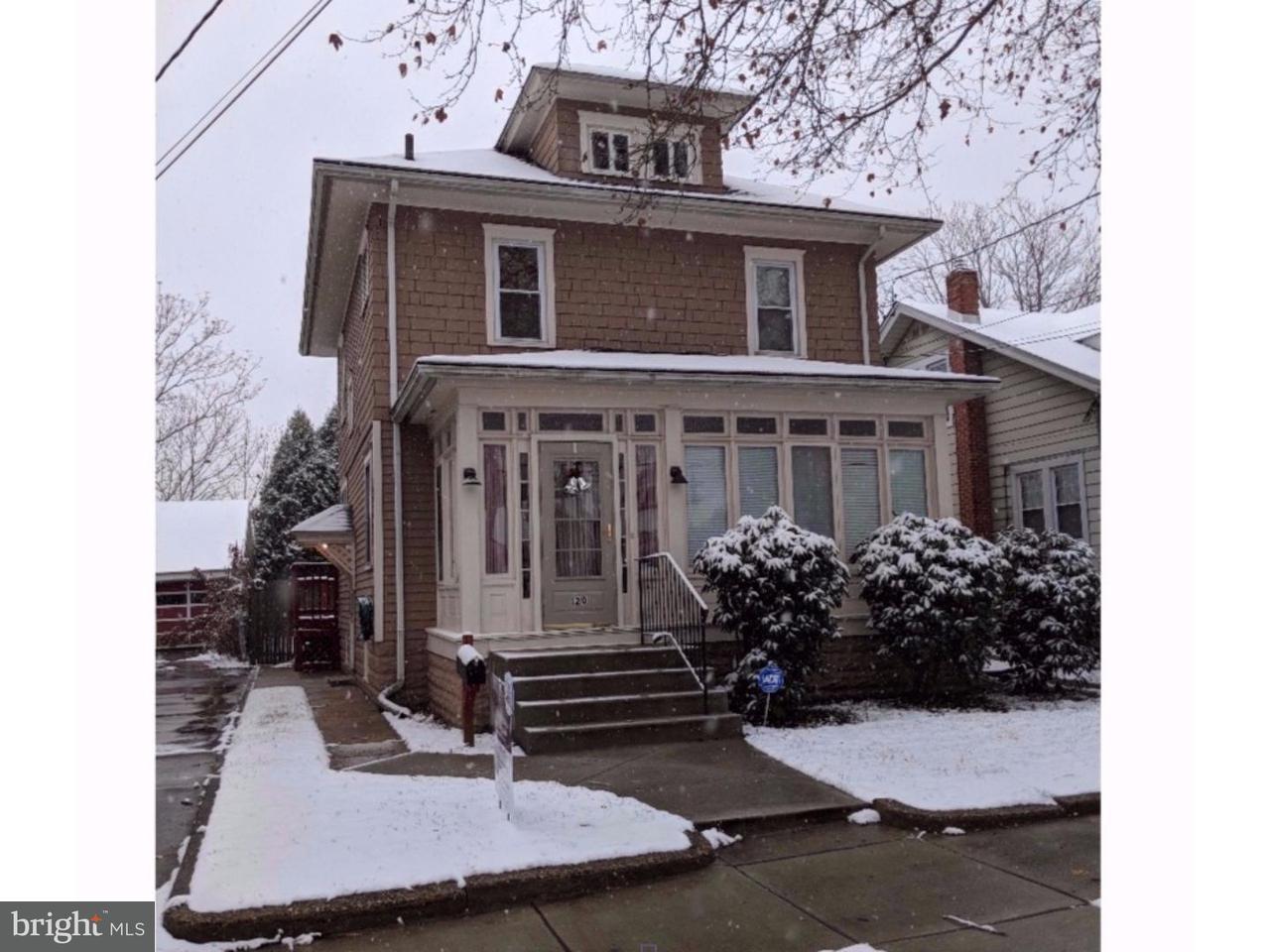 独户住宅 为 销售 在 120 LUPTON Avenue Woodbury, 新泽西州 08096 美国