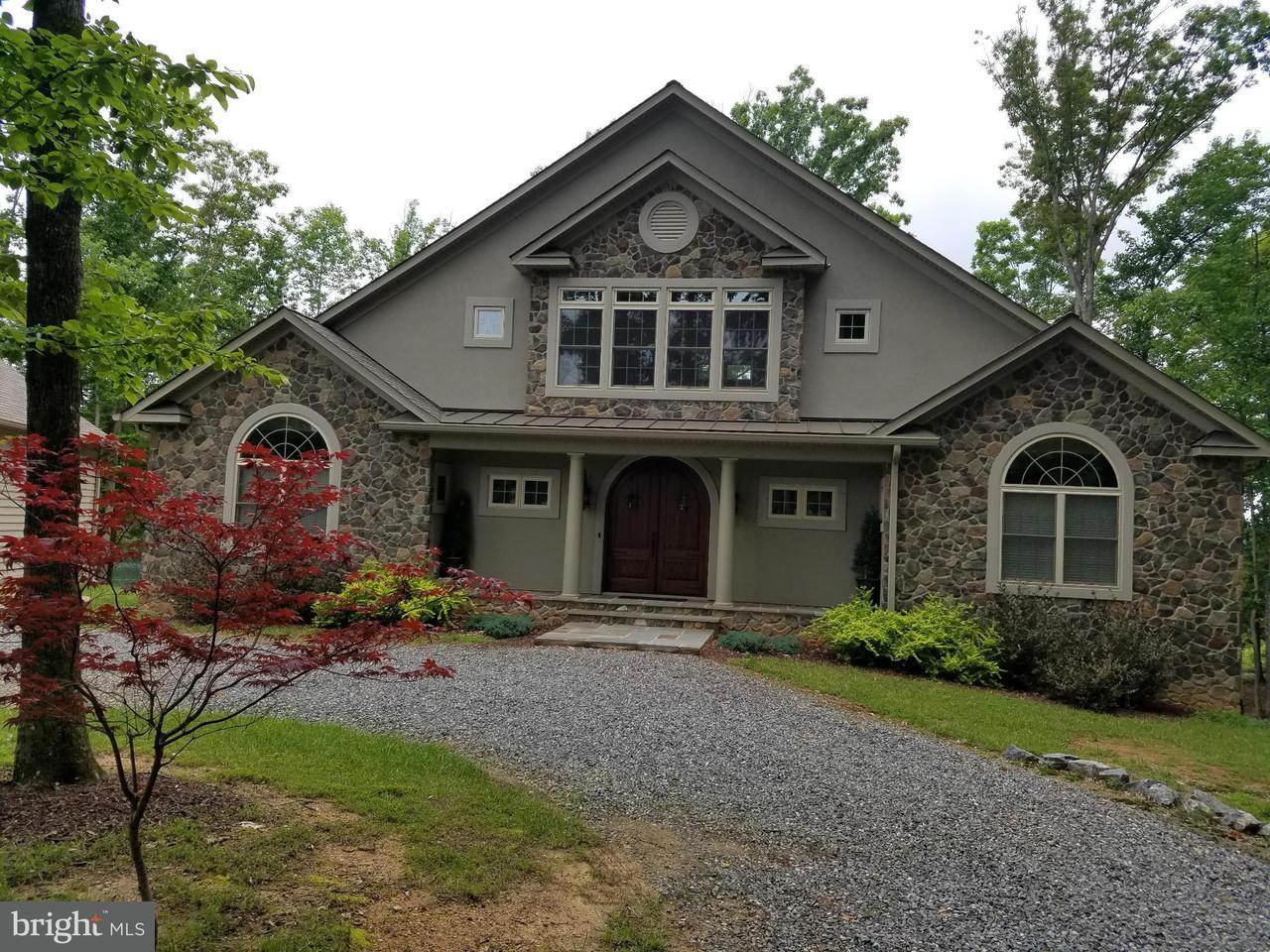 Частный односемейный дом для того Продажа на 204 BLUE SKY WAY 204 BLUE SKY WAY Bumpass, Виргиния 23024 Соединенные Штаты