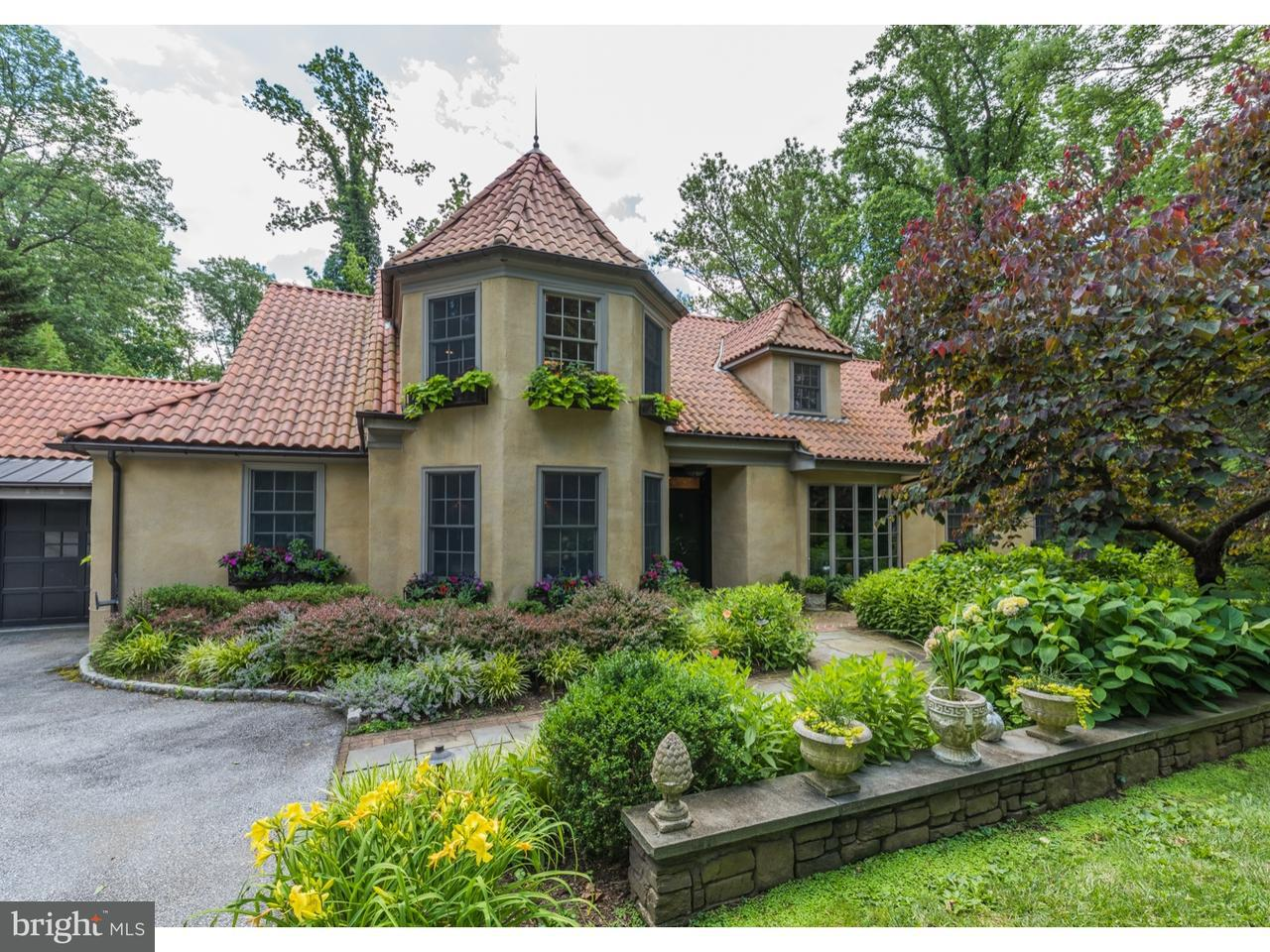 Single Family Home for Sale at 1230 RIDGEWOOD Road Bryn Mawr, Pennsylvania 19010 United States