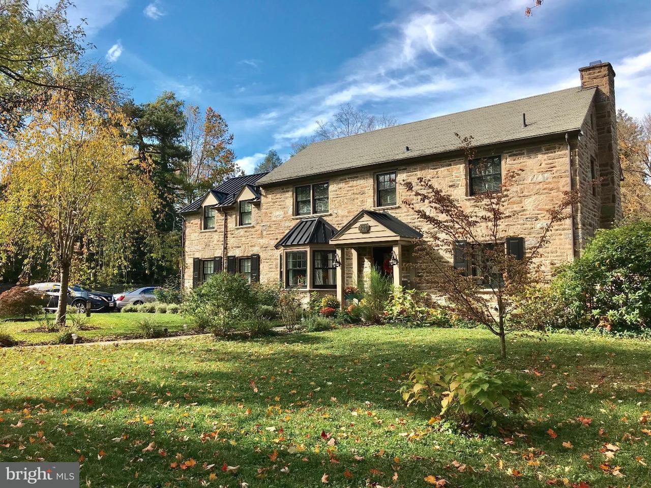 Maison unifamiliale pour l Vente à 401 HILLCREST Avenue Erdenheim, Pennsylvanie 19038 États-Unis