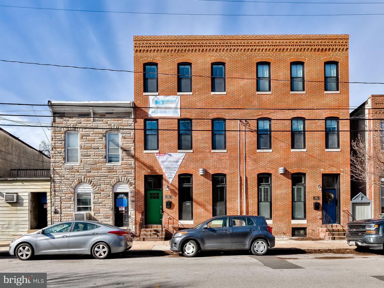 Таунхаус для того Продажа на 1424 HULL Street 1424 HULL Street Baltimore, Мэриленд 21230 Соединенные Штаты