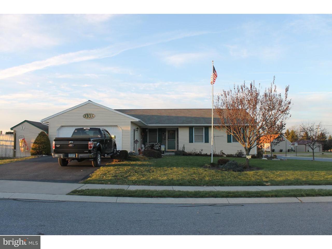 Частный односемейный дом для того Продажа на 133 TREELINE Newmanstown, Пенсильвания 17073 Соединенные Штаты