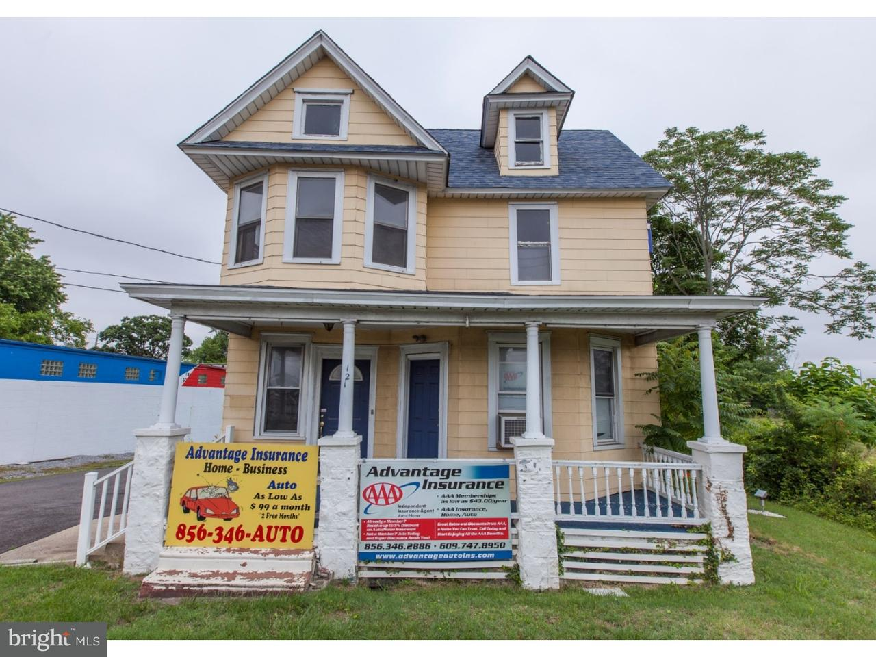 Duplex for Sale at 121 S WHITE HORSE PIKE S Magnolia, New Jersey 08049 United States