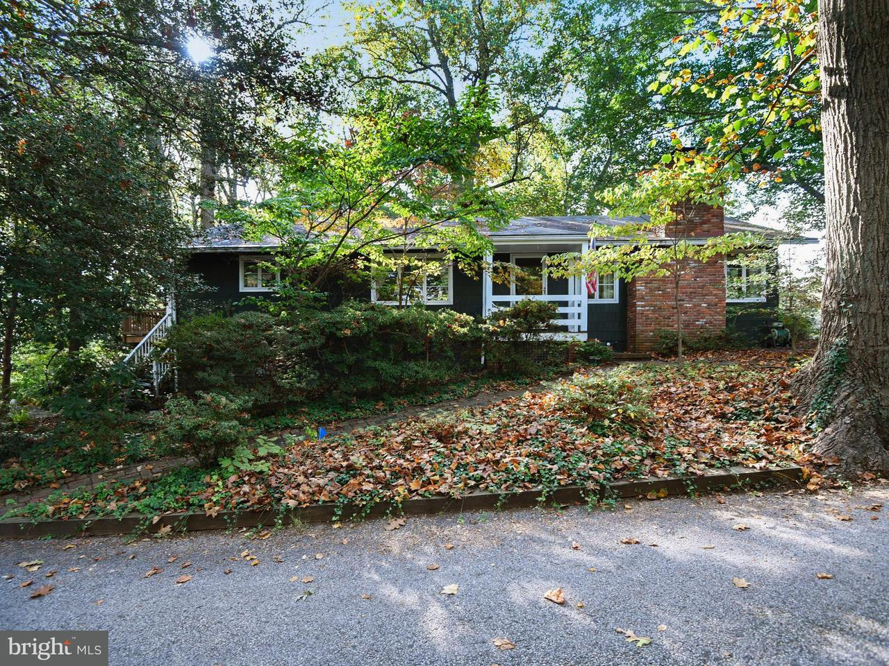 Single Family Home for Sale at 640 MAID MARION Road 640 MAID MARION Road Sherwood Forest, Maryland 21405 United States