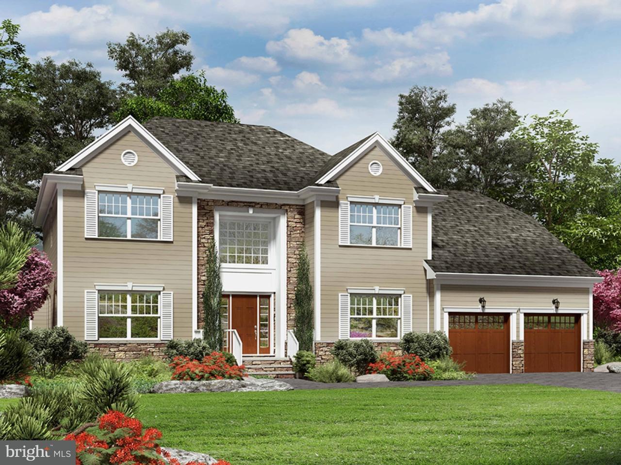 Enfamiljshus för Försäljning vid VAN AKEN Road Belle Mead, New Jersey 07480 UsaI/Runt: Montgomery Township