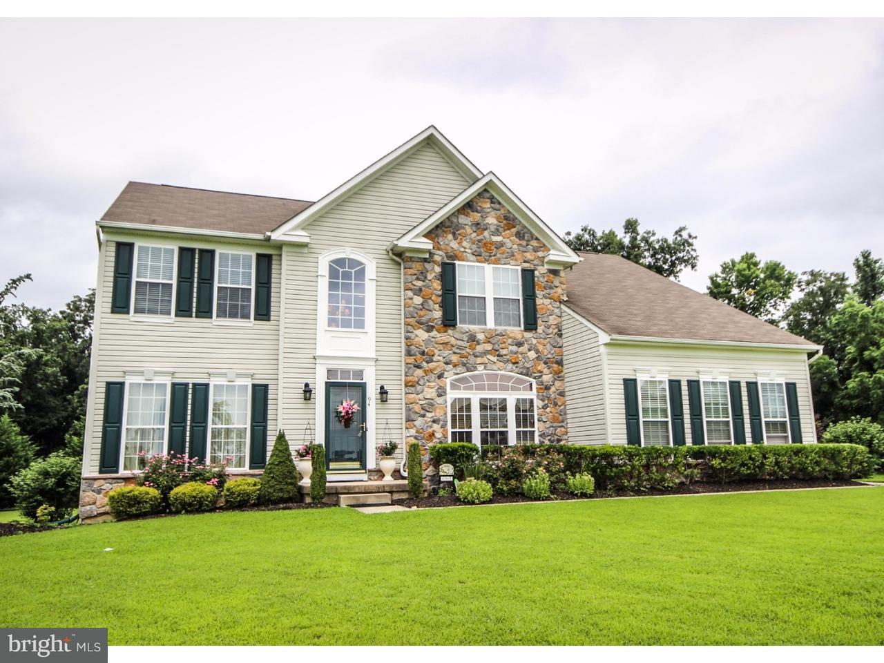 Maison unifamiliale pour l Vente à 94 QUAIL RIDGE WAY Mickleton, New Jersey 08056 États-Unis