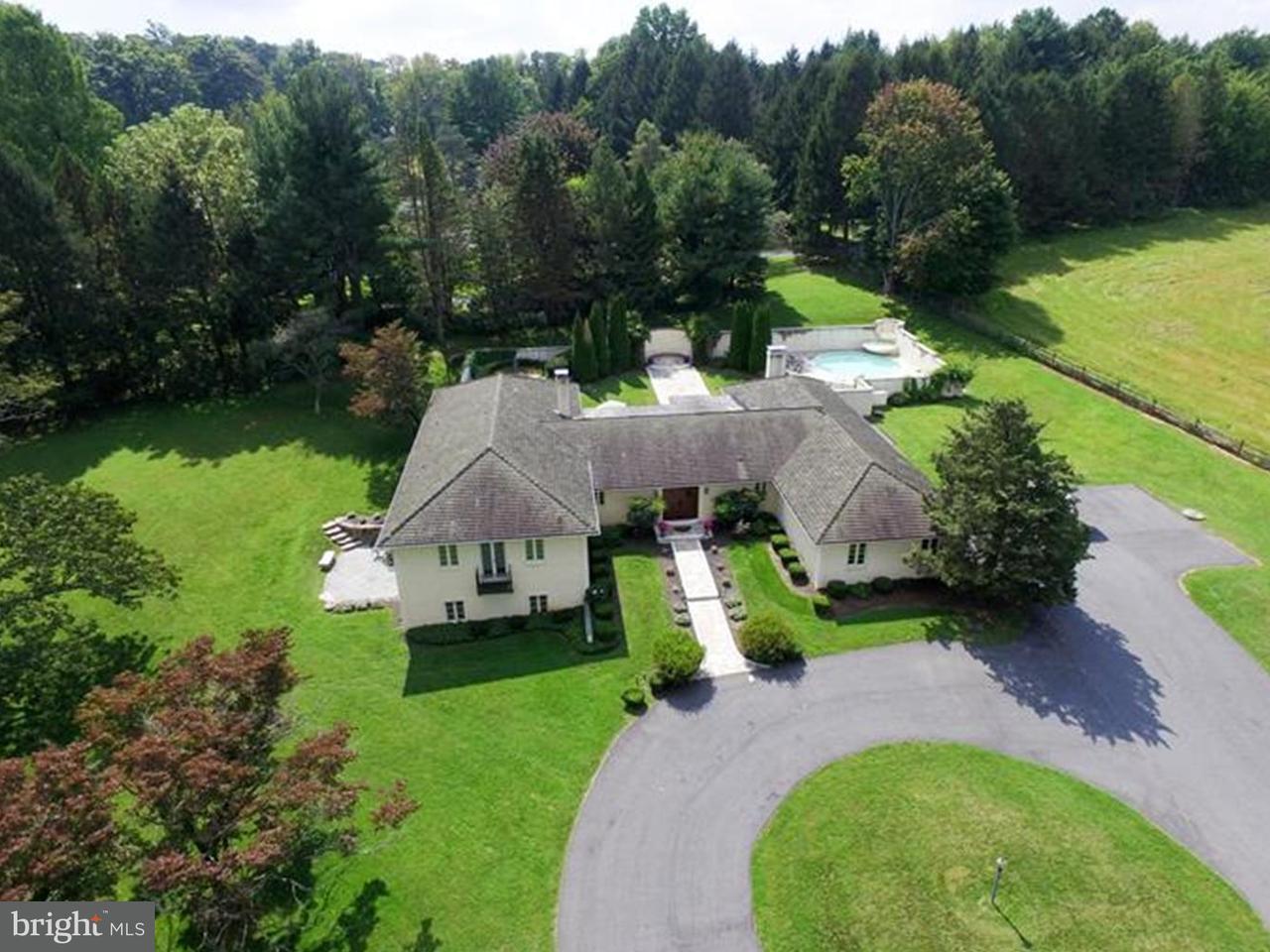 独户住宅 为 销售 在 126 ADAMS DAM Road Montchanin, 特拉华州 19807 美国