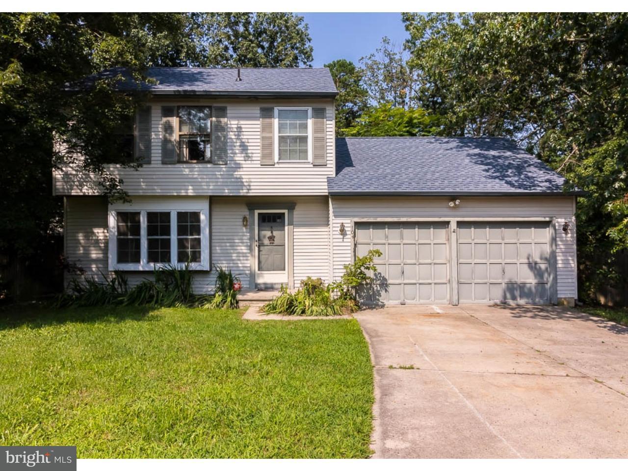Enfamiljshus för Försäljning vid 104 WRIGLEY Court Atco, New Jersey 08004 Usa