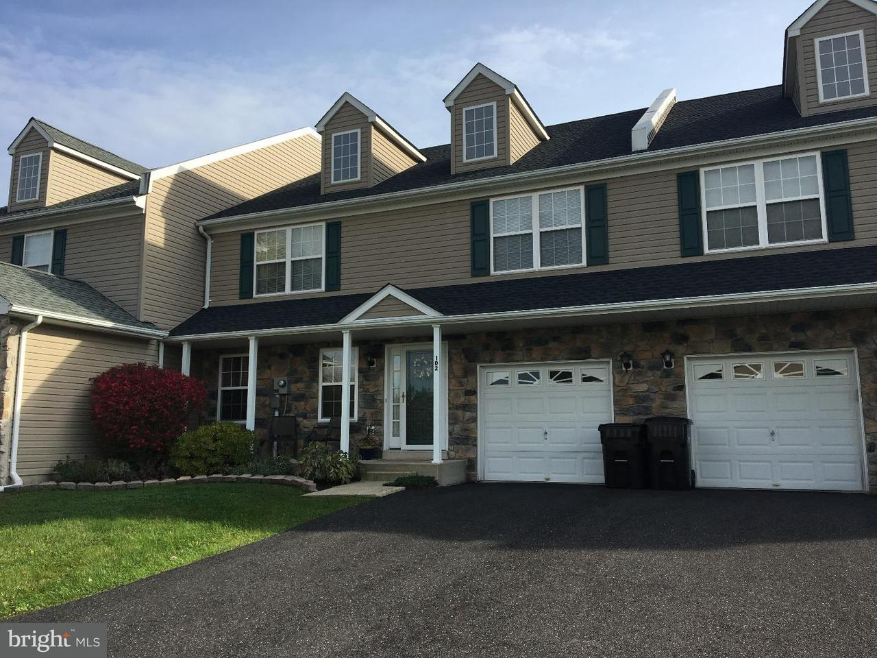 Townhouse for Sale at 102 MARY Court Richlandtown, Pennsylvania 18955 United States
