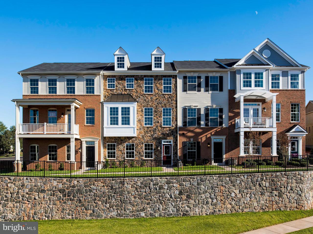 Maison accolée pour l Vente à 20513 ZOLABEANE SQ 20513 ZOLABEANE SQ Sterling, Virginia 20165 États-Unis