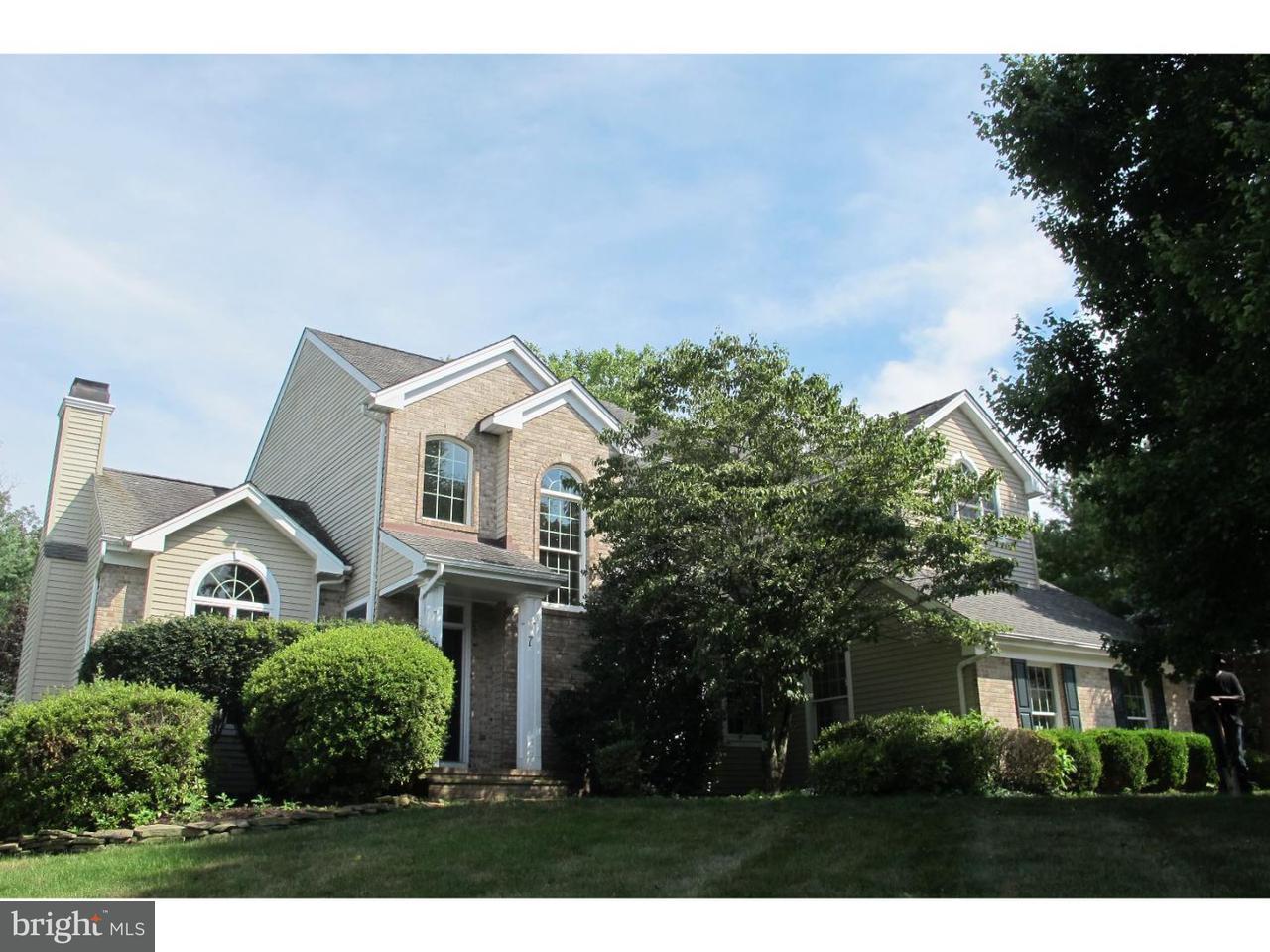 独户住宅 为 出租 在 7 HERITAGE HILLS Court 斯基尔曼, 新泽西州 08558 美国在/周边: Montgomery Township