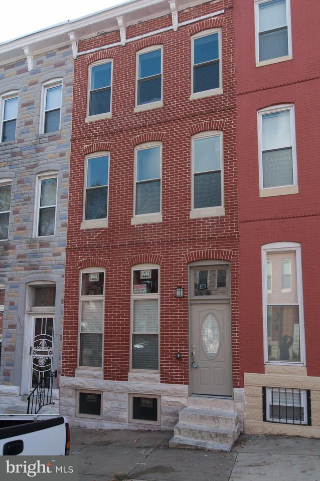 Single Family for Sale at 1613 Biddle St E Baltimore, Maryland 21213 United States